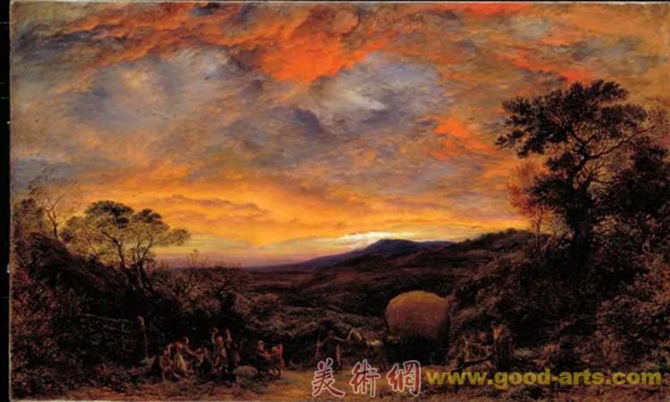 心灵的风景:泰特不列颠美术馆珍品展(1700-1980)展览现场